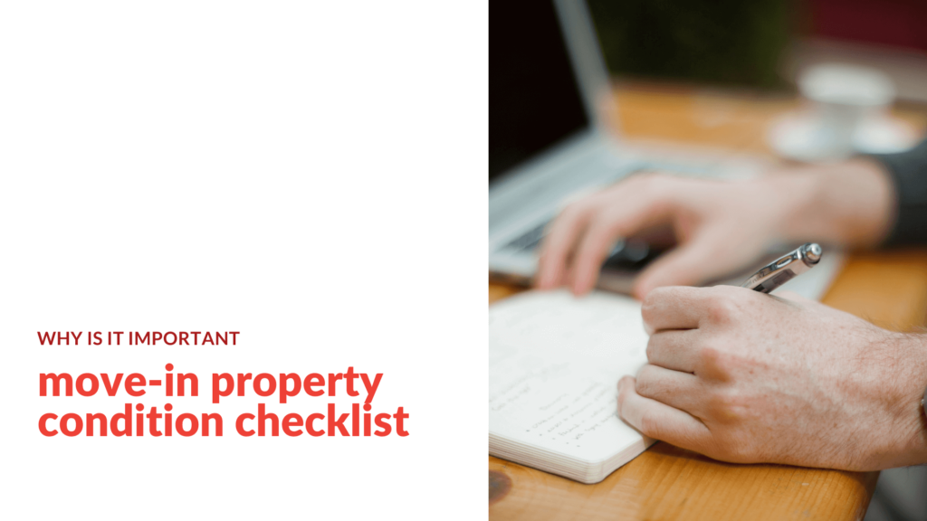 Why a Move-In Property Condition Checklist is Important Jacksonville Property Management